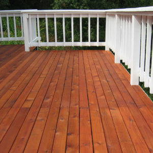 deck staining in Teaneck  nj