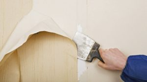 wallpaper removal service in Saddle Brook